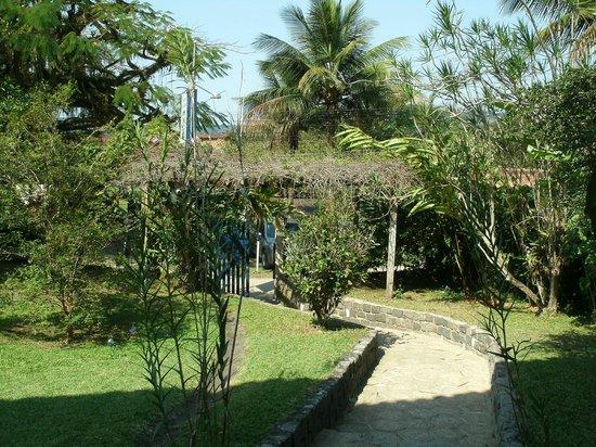 Recanto da Ladeira: Jardim