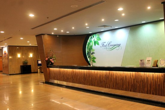 Fort Canning Lodge: reception