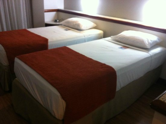 Bristol Merit Hotel: bom colchão