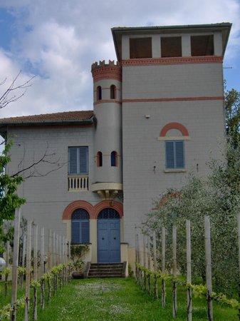 B&B Villa Pardi: facciata nord