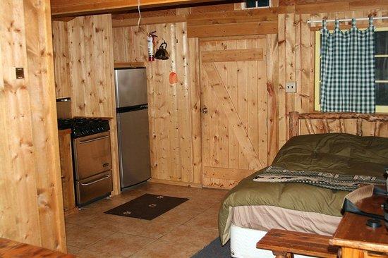 Pine Edge Cabins: Cabin #10 Love Shack Interior