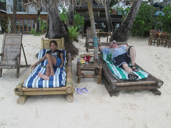 Blue Mango Inn : Direct beach access!