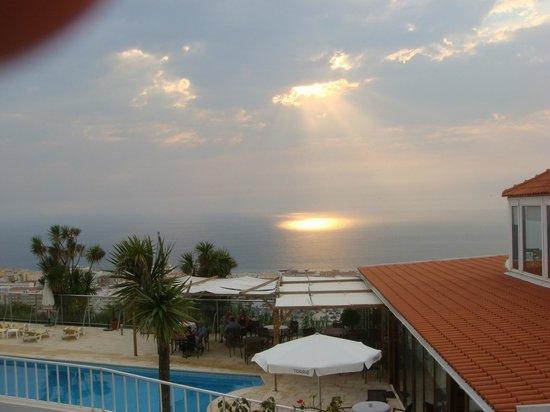 Miramar Hotel & SPA: couché de soleil