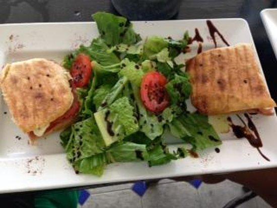 Love: Panini and salad