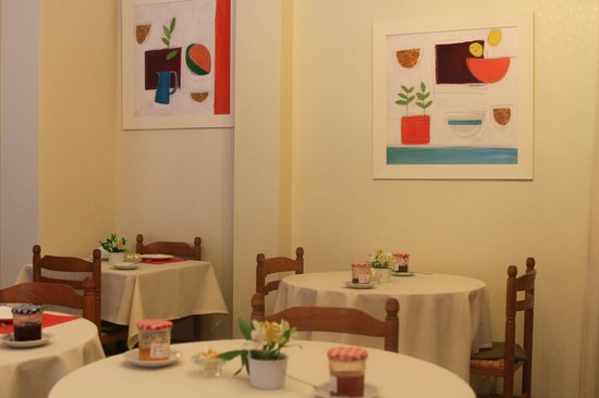 Balzac Hotel: Comedor
