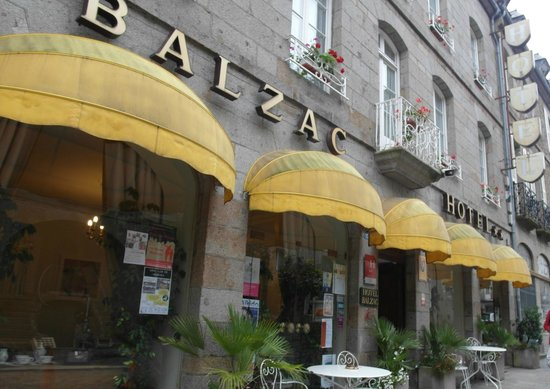Balzac Hotel: Fachada del hotel
