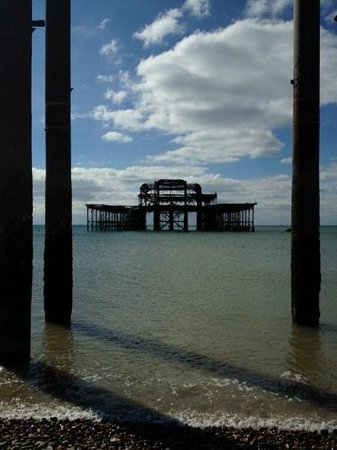 West Pier: What is left of the pier