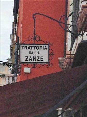 Trattoria dalla Zanze: Sign