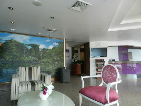 Hotel Rio Amazonas Internacional: Hall
