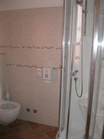 Locanda del Parco Hotel : bagno con doccia idromassaggio