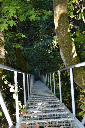 Saka Cliff Hotel & Spa: Stairway to the beach
