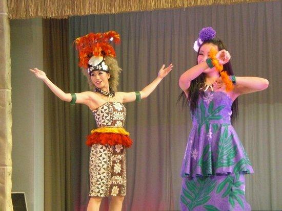 Spa Resort Hawaiians VIR Port : ショー素晴らしい!