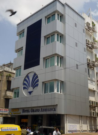 Front view of Hotel Grand Ambience