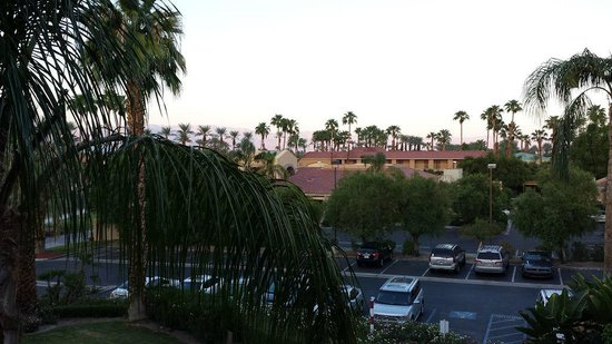 Holiday Inn Express Palm Desert / Rancho Mirage: View from our room
