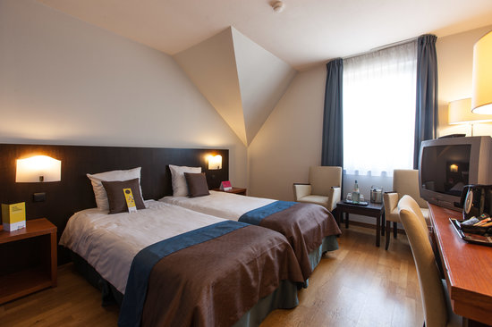 Velotel Brugge: Classic Twin Room