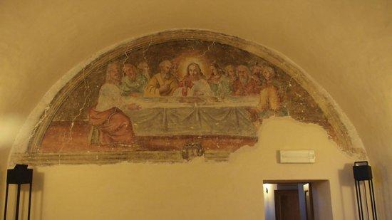 Convento di Santa Croce: ..dentro al Convento c'è anche cultura...