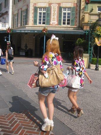 Tokyo DisneySea: adolescentes disney
