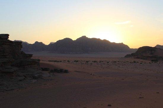 Sunrise Camp: sunset