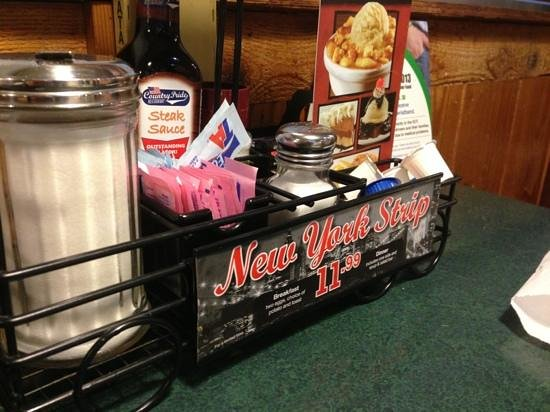 Buckhorn: with a retro diner appeal !