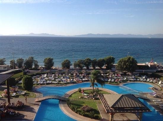 Oceanis Hotel: view of turkey from room 442
