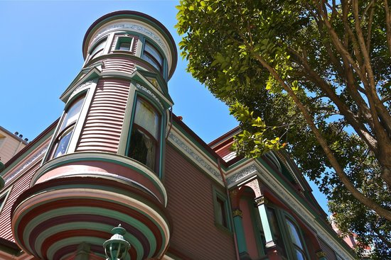 Chateau Tivoli Bed & Breakfast : CHATEAU TIVOLI SFO