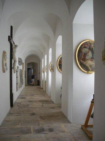 Dom St. Blasien: Corridoio laterale