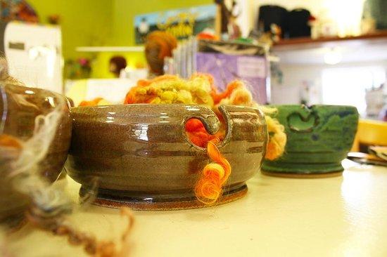 Cowgirl Yarns : We sell locally made yarn bowls