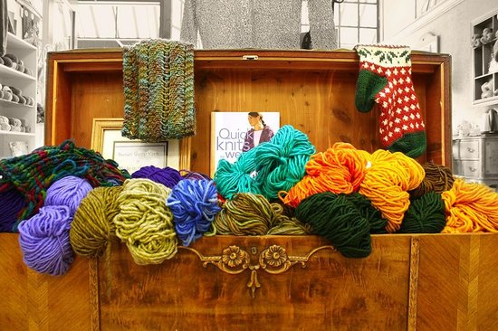 Cowgirl Yarns : Hope chest of yarn