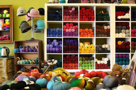 Cowgirl Yarns : A wall of Yarn