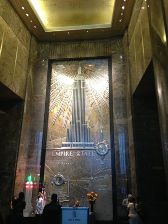 View through window on the 102nd floor picture of for 102nd floor empire state building