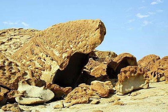 Wuestenquell : Erosionsskulptur