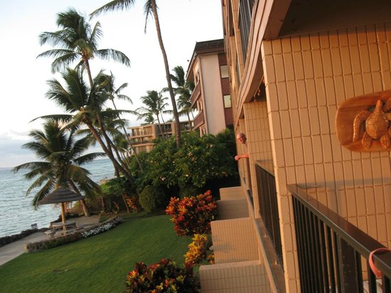 Kaleialoha Condominiums: Unit 210, balcony facing North