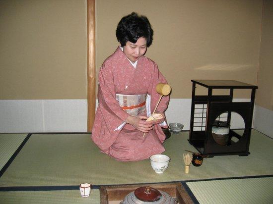 Imperial Hotel Tokyo: Cerimonia del the