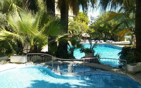 Senses Palmanova: The garden and pool