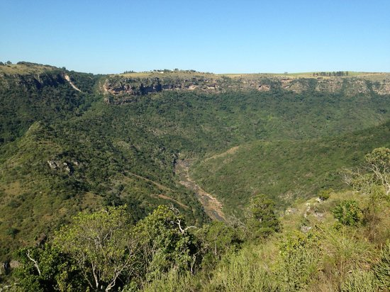 Oribi Gorge Hotel: the view