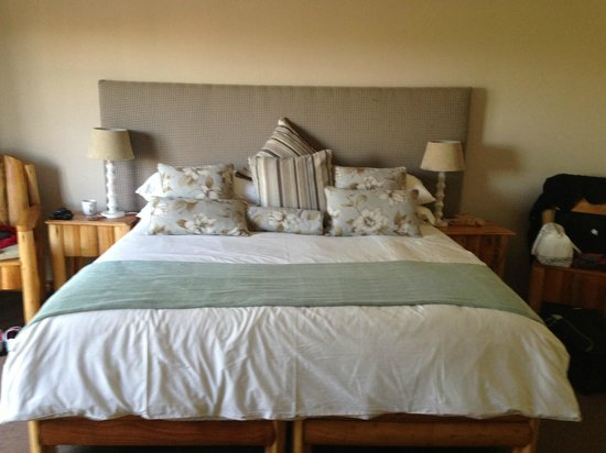 Oribi Gorge Hotel: the room