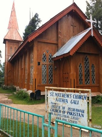 Khyber Pakhtunkhwa Province, Πακιστάν: St. Mathew's Church Nathiagali