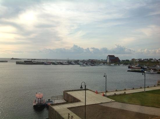 The Harbour Quarters Inn: wonderful view from our room!
