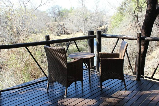 Balcony at Madikwe River Lodge