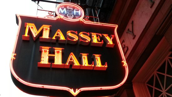 Massey Hall: The Classic Sign