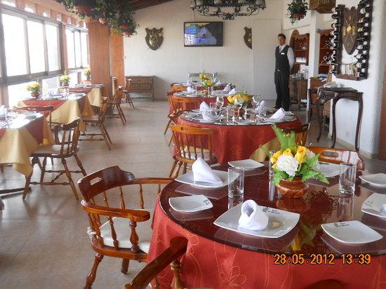 El Marques de San Isidro : RESTAURANTE DEL HOTEL