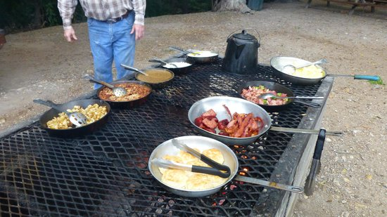 Mayan Dude Ranch: The Cowboy Breakfast - diet BEFORE you go!