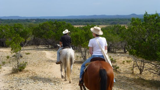 Mayan Dude Ranch: Horse Riding in the Hill Country