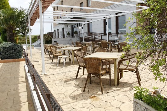 Hotel Hidalgo: Terraza