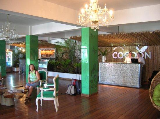 Cocoon Hotel: Recepción