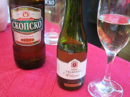 Restaurant Kaj Marsalot: Good wines and local beer