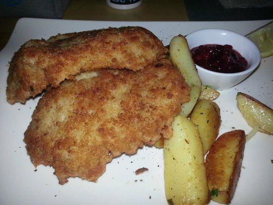 Zwickl - Gastlichkeit am Viktualienmarkt: Wiener schnitzel