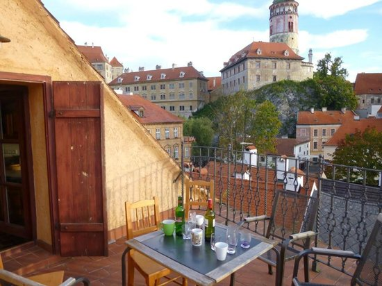 Penzion Thalleruv dum : Habitacion numero 7, terraza