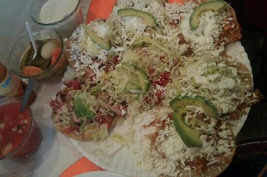 Tostadas de Coyoacan: mmmmm