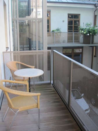 Hotel Deutsche Eiche: Apartment Balcony